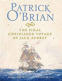Cover by Geoff Hunt for The Final Unfinished Voyage of Jack Aubrey.