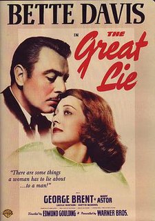<i>The Great Lie</i> 1941 film by Edmund Goulding