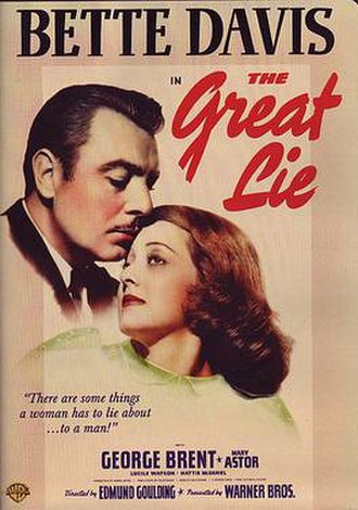 The Great Lie - Theatrical release poster