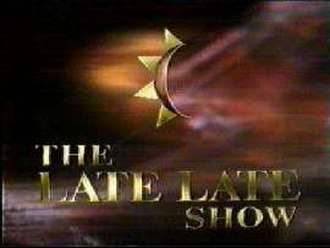 The Late Late Show (Irish TV series) - Logo during the Gay Byrne era