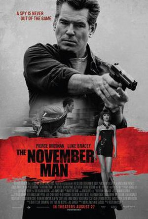 The November Man - Theatrical release poster
