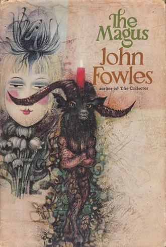 The Magus (novel) - First UK edition, cover painting by Tom Adams