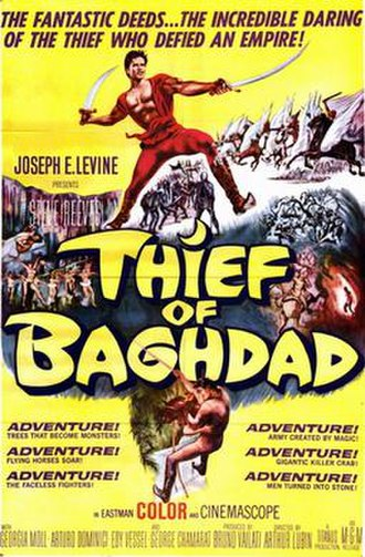 The Thief of Baghdad (1961 film) - Image: Thief of baghdad movie poster 1961 1020209070