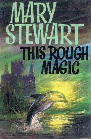 This Rough Magic - First edition (publ. Hodder & Stoughton) Cover art by Val Biro