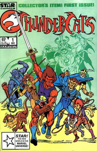 Names Thundercats on Issue  1 Of Thundercats   December 1985