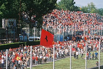 Tifosi - The Tifosi at the 2003 Italian Grand Prix, Monza