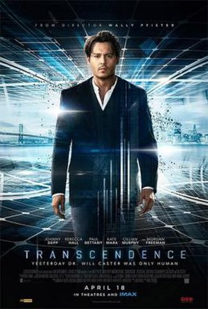 Transcendence (2014 film) - Theatrical release poster