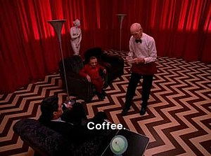 Episode 29 (Twin Peaks) - Image: Twin Peaks coffee
