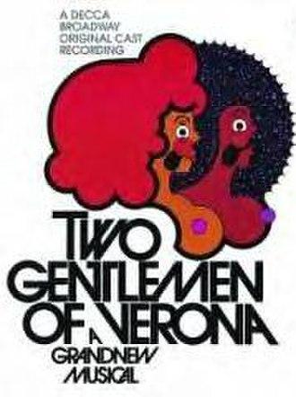 Two Gentlemen of Verona (musical) - Original Cast Recording