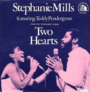 Two Hearts (Stephanie Mills song) - Image: Two Hearts Stephanie Mills & Teddy Pendergrass