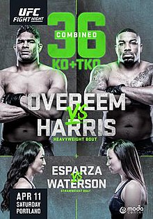 Ufc Fight Night Overeem Vs Harris Wikipedia