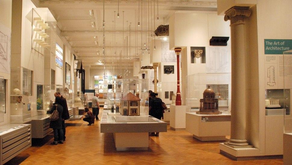 V%26A %2B RIBA Architecture Gallery, Victoria and Albert Museum, London
