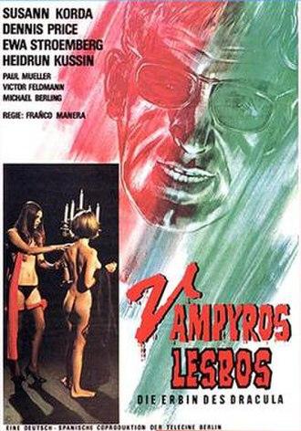 Vampyros Lesbos - Image: Vampyros lesbos poster