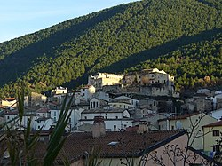 View of Bugnara at sunset.jpg