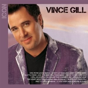 Icon (Vince Gill album) - Image: Vinceiconcover