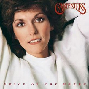 Voice of the Heart - Image: Voice of the Heart (Carpenters album) CD cover art