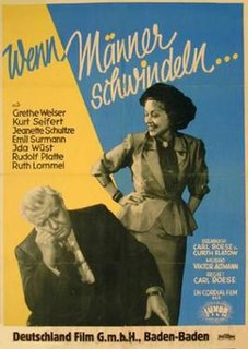 <i>When Men Cheat</i> 1950 film by Carl Boese