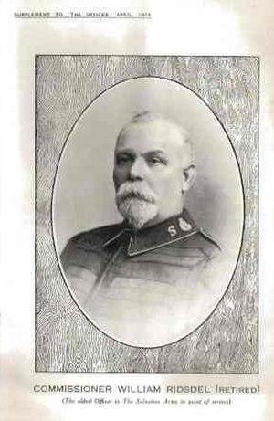 William Ridsdel - Commissioner William Ridsdel in 1916