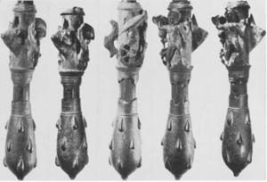 Hercules' Club (amulet) - The Willingham Fen bronze mace