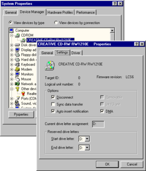 AutoRun - Auto insert notification under Windows 98