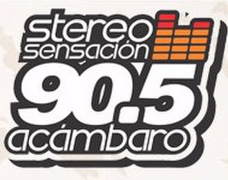 XHVW-FM - Logo as Stereo Sensación, used until 2016