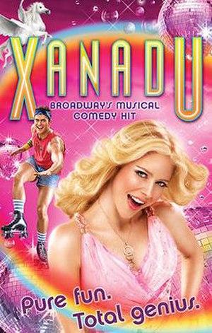 Xanadu (musical) - Broadway poster