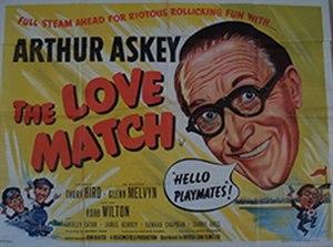 The Love Match - British quad poster