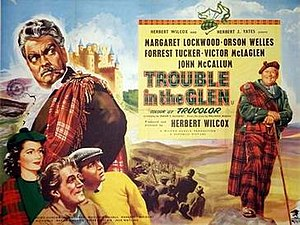 Trouble in the Glen - theatrical poster