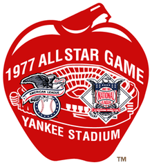 1977 Major League Baseball All-Star Game logo.png