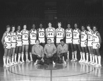 1979–80 Illinois Fighting Illini men's basketball team - Image: 1979–80 Illinois Fighting Illini men's basketball team