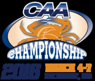2016 CAA Men's Basketball Tournament - Tournament Logo