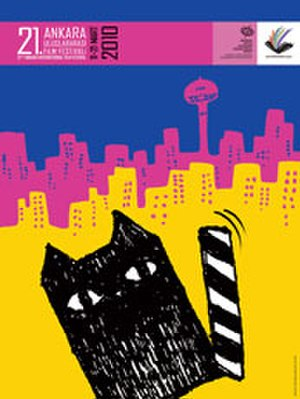21st Ankara International Film Festival - Festival Poster