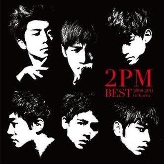 2PM Best: 2008–2011 in Korea - Image: 2PMBest Regular