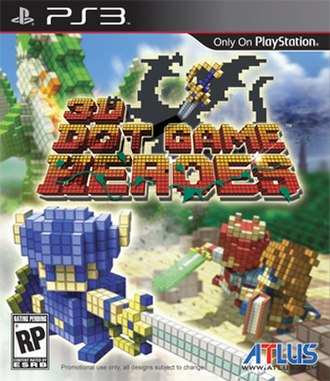 3D Dot Game Heroes - North American box art
