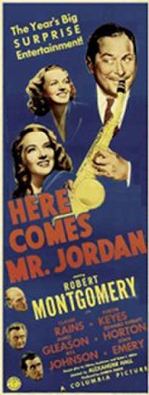 Here Comes Mr. Jordan - Theatrical film poster