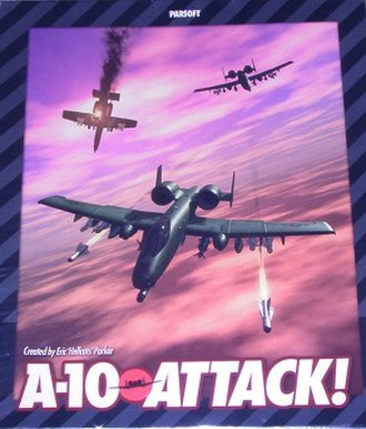 A-10 Attack! - Image: A 10 Attack! cover art