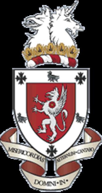 Abingdon School - Image: Abingdon School crest