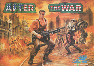 After the War (video game) - Spanish ZX Spectrum version of After The War's cover art