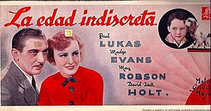 Age of Indiscretion - Spanish language poster