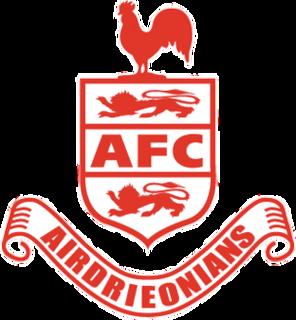 Airdrieonians F.C. (1878) Former association football club in Scotland