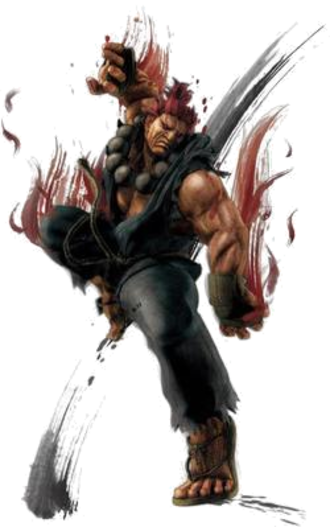 Akuma (Street Fighter) - Akuma in Super Street Fighter IV
