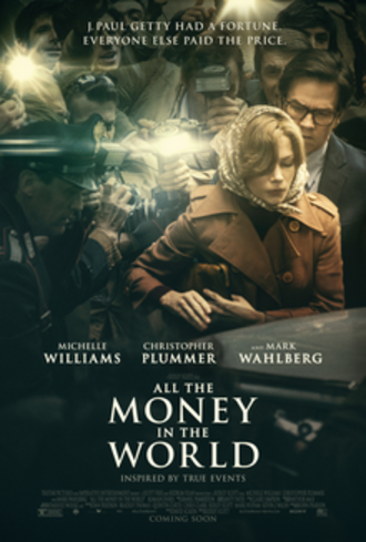 All the Money in the World - Theatrical release poster