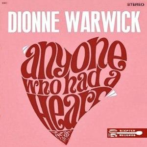 Anyone Who Had a Heart (album) - Image: Anyone Who Had a Heart album cover