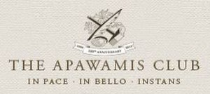 The Apawamis Club - Image: Apawamis Club.logo