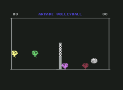 Arcade Volleyball for Commodore 64