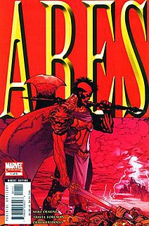 <i>Ares</i> (comic book) 2006 Marvel Comics comic book limited series