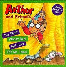 Arthur's Almost Real Not Live (CD cover art).jpg