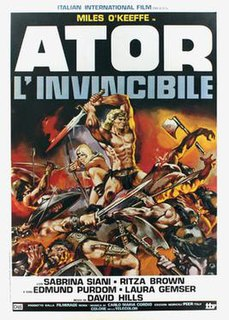 <i>Ator, the Fighting Eagle</i> 1982 film by Joe DAmato