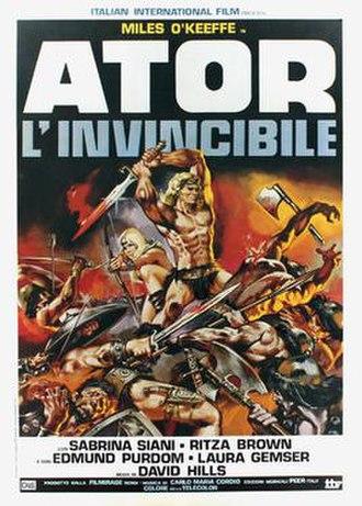 Ator, the Fighting Eagle - Image: Ator linvincibile italian movie poster md