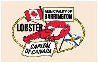 Municipality of the District of Barrington - Image: Barrington NS flag
